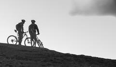Mam Tor (JimSharman) Tags: mountainbikes peakdistrict silhouette