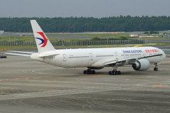 China Eastern Airlines Boeing 777-39P(ER) B-2020 (EK056) Tags: china eastern airlines boeing 77739per b2020 tokyo narita international airport