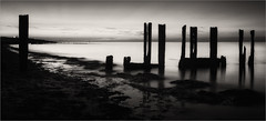 Stand Apart (Roger Nolan LRPS) Tags: groyne kent kentcoast minnisbay sea sunset