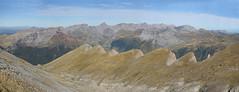 Panorama (Fermin Pagola) Tags: castillodeacher pirineos huesca panormica anie billare mesadelostresreyes petrechema acherito chipetaalto otoo
