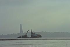 Kstenwache Frde + Laboe Turm2 (MD Picture) Tags: kiel ship schiff kstenwache frde