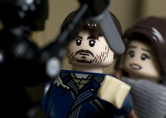 No! This one's a friend (tomtommilton) Tags: lego toy toyphotography macro starwars rogueone jyn erso cassian andor k2so kill friends movie
