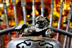 Art of n Ngc Sn (gambajo) Tags: vietnam hanoi art religion buddhism temple sacred holy vsco vscocam chimera sculpture