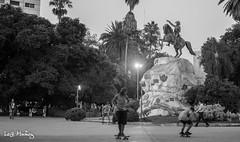 Skaters (leoleamunoz) Tags: skate patineta deporte street ciudad city callejero blancoynegro blackandwhite monochrome monocromatico