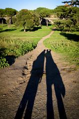 (massimopisani1972) Tags: parco degli acquedotti roma rome italia italy massimopisani massimo pisani lovers amanti ombre shadows nikon d610 20300