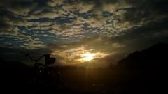sunset (twinni) Tags: mw1504 07112016 bike biketour salzburg austria österreich beachcruiser winter schnee