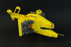 Renault Hirondelle (01) (F@bz) Tags: starfighter spaceship lego sf space moc scifi renault