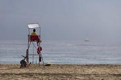 Baywatch (magomu) Tags: barcelona baywatch vigilante playa beach bcn