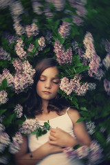 (Rebecca812) Tags: girl lilac peaceful slumber sleep eyesclosed flower springtime spring beauty nature beautiful childhood innocence