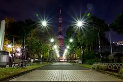 Light Out Tower (Ballet Lausanne) Tags: tokyo shibakoen night d800 tokyotower