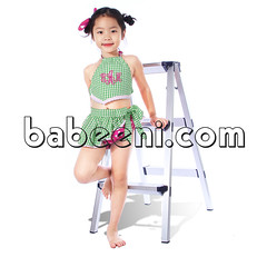Cute green monogram girl swimwear (babeeniclothing) Tags: girl fashion clothing monogram swimwear swimsuit cute love beautiful nice children