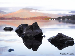 The bonnie banks of loch lomond (Nicolas Valentin) Tags: loch lomond kayaking kayakfishingscotland rock morning balmaha