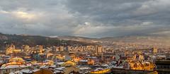 Blagoevgrad, Bulgaria (Boris Genov) Tags: blagoevgrad bulgaria sunset winter snow city town