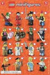 Collectible Minifigures Series 04 (AB Quest) Tags: lego collectible minifigures