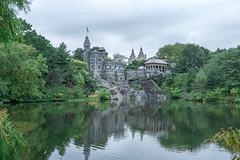 Castle on the Lake (H. Evan Miller) Tags: hevanmiller castle manhattan alpha nex centralpark newyork sony a6000 travel ilce6000 belvederecastle
