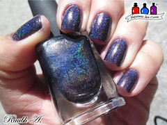 Homecoming - ILNP (Raabh Aquino) Tags: unhas esmaltes holográfico escuro roxo nails nailpolish ilnp holographic