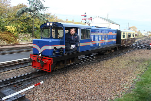 CAPTIN HOWEY shunting at New Romney