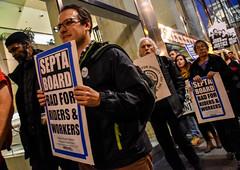 Solidarity with SEPTA Strikers (joepiette2) Tags: twu solidarity protests demonstrations septa