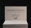 Miriam Asensio (El Calotipo) Tags: businesscards tarjetas letterpress design printing diseño cardboard recycled