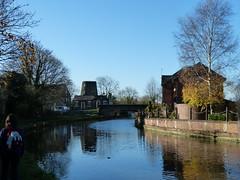 Windmill at Parbold (Thomas Kelly 48) Tags: leedsliverpoolcanal canal burscough gathurst panasonic lumix fz150 windmill parbold