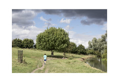 Grantchester Meadows (Pictures from the Ghost Garden) Tags: nikon d7100 dslr 18105mm unitedkingdom uk cambridgeshire grantchester meadows grantchestermeadows rural landscape rurallandscape trees rivers rivercam canoes people sky clouds