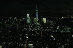 THE CITY THAT NEVER SLEEPS BY NIGHT (ménardthomas) Tags: new york night city light awake breathtaking