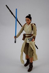 Star Wars Elite Series Rey Premium Action Figure - Disney Store Purchase - Deboxed - Freestanding - Full Right Front View (drj1828) Tags: starwars theforceawakens rey figure actionfigure purchase disneystore eliteseries premium posable 10inch deboxed freestanding