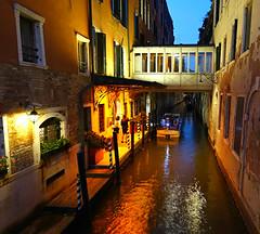 A Little Canal in Venice (Colorado Sands) Tags: canal venice italy europe italian boat water sandraleidholdt venetian irmaii veneto italia watercraft venezia