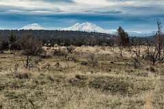 Three Sisters, Cascade Range (chasingthelight10) Tags: events photography landscapes canyons mountains highdesert rockformations places oregon centraloregon aldersprings whychuscreekcanyon whychuscreek otherkeywords creeks