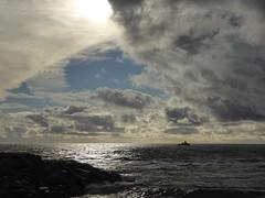 il peggio  passato (fotomie2009) Tags: savona novembre 2016 mareggiata sea mare clouds nuvole liguria riviera ponente ligure