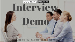 Interview Demo (Cocklins Digital) Tags: dcvideoproduction videoproductionservice washingtonvideoproduction commercialvideoproduction corporatevideoproduction documentaryvideoproduction filmproduction filmmaking multicameravideoproduction mediaproduction videoeditingservice