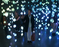 colored lights 1 (kendradrischler) Tags: newyorkcity newmuseum coloredlights me