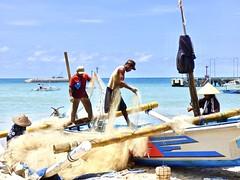Fishermen . (Franc Le Blanc .) Tags: panasonic lumix indonesia bali jimbaran fishermen