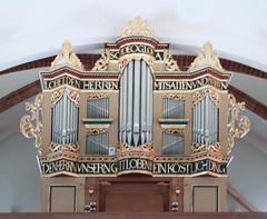 The Organ of St.-Sigismundkirche, Daverden, Niedersachsen, Germany (Philinflash) Tags: 2016 church churchinteriors europe germany organ orgel otherkeywords places daverden niedersachsen