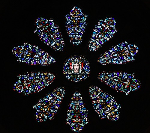 Rose Window at Our Lady of Lourdes Catholic Church - St. Louis, MO_IMG_8344c