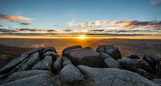 Sunset on the Edge....