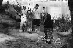 Family Celebration   -   Celebracin familiar (Carlos... (limited activity / actividad limitada)) Tags: lifebytheriver vidaenelro diquelujn tigre fishing pesca bw byn people gente canon dslr 5dmk3