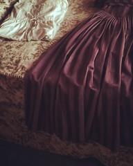 jane austen colouring book (Connor Vasey) Tags: dundurncastle castle vintage bed dresses floral