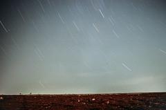 Star Trails (tankaancansiz) Tags: canonstar stars canon ae1 ae1p analog 35mm film fujifilm c200 fuji color negative 28mm 28 mm tokina rmc f28 night star trails startrails astrophotography