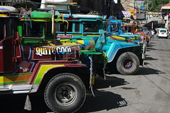 Jeepney, Baguio, Northern Luzon, Philippines (ARNAUD_Z_VOYAGE) Tags: islands island philippines landscape boat sea southeast asia city people volcano amazing asian moutains sunset street action cars jeepney tricycle architecture river tourist capital town municipality bangkeros filipino filipina baguio northern luzon colors building house provincial province ibaloi village