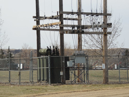ATCO Electric Drumheller Substation