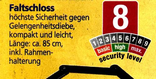 """Kampf den Dummköpfen: HÖCHSTE Sicherheit gegen GELEGENHEITSdiebe • <a style=""""font-size:0.8em;"""" href=""""http://www.flickr.com/photos/77921292@N07/20354388123/"""" target=""""_blank"""">View on Flickr</a>"""