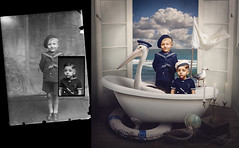 All Hands on Deck (Joly_68) Tags: photomanipulation photorestoration photoretouching janelongphotography costicaascinte