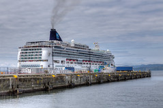 Cruise Ship - Ogden Point, Victoria, Vancouver Island, British Columbia, Canada (Toad Hollow Photography) Tags: cruise canada bc britishcolumbia victoria vancouverisland cruiseship hdr innerharbor ogdenpoint yyj
