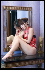 nEO_IMG_DP1U0748 (c0466art) Tags: old light red portrait motion face canon pose nose high pretty underwear sweet room gorgeous chinese style motel lips round attractive hip charming elegant sext 1dx c0466art