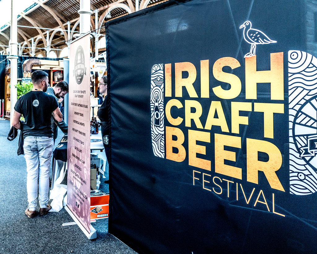 IRISH CRAFT BEER FESTIVAL IN THE RDS LAST WEEKEND IN AUGUST 2015 [SONY A7R MkII] REF-107250