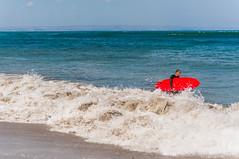 Surf in kuta (Richy F/ Paris) Tags: shadow summer bali cloud holiday beach temple coconut kuta tanahlot seminyak nex6sony