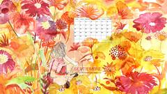 Calendario septiembre (maite oz) Tags: primavera buenosaires calendar septiembre fondodeescritorio calendario