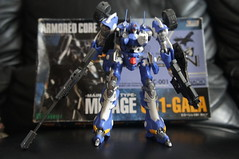 Armored Core - Mirage C01-GAEA-UN (Uncontrolled) Belonging Sapphire Force Ver. (Marco Hazard - Knight of Ren) Tags: force mirage ac raven armored core nexus ver sapphire belonging jash uncontrolled isami az01 c01gaeaun