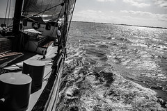 Ready Steady Go! (Tristan Roebersen) Tags: white black water tristan canon dark eos evening boat back cool war gun driving sailing awesome sails sail to guns sailor epic pampus darky 2015 1ste skob schuttevaer awesomenss 1200d roebersen